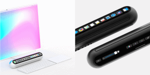 Taptop – Apple Mac Mini With Touch Bar And Face ID System