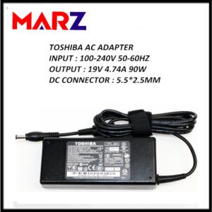 TOSHIBA Laptop Adapter 19V_4.74A (5.5 2.5mm)