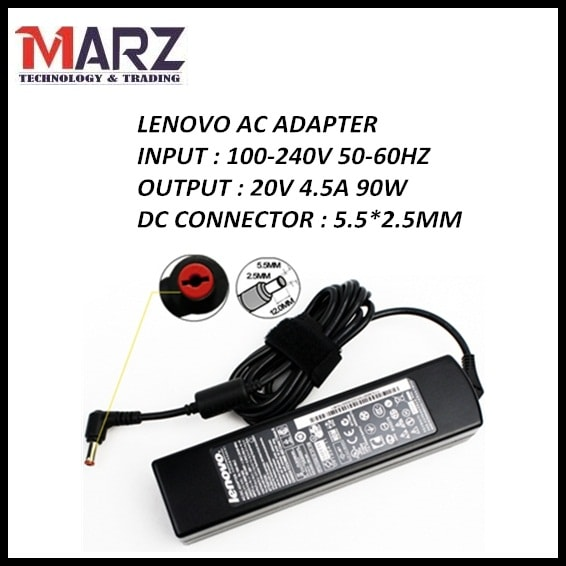 LENOVO Laptop Adapter 20V_4 5A (5 5*2 5mm)
