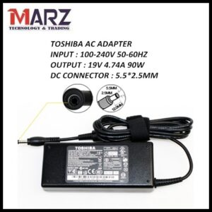 TOSHIBA Laptop Adapter 19V_4.74A (5.5 2.5mm)