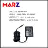 DELL AC LAPTOP ADAPTER 19.5V_3.34A (4.5*3.0MM)